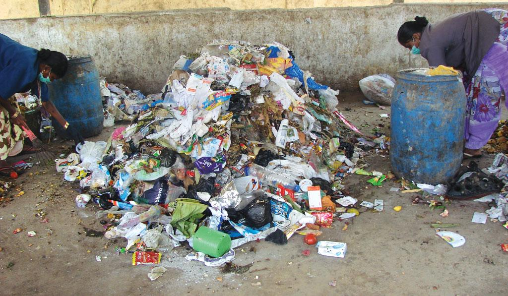 problems of non biodegradable waste