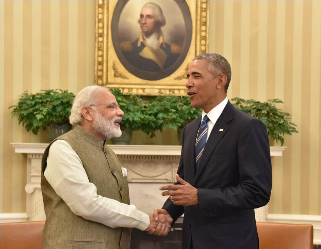 As two of the world's top emitters, US-India relations on climate are critical to the world staying below a 1.5°C rise (Photo courtesy: Press Information Bureau)