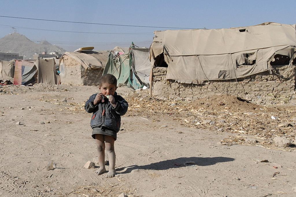 Children formed 51 per cent of the world's total refugees in 2015 Credit: Global Panorama/ Flicker