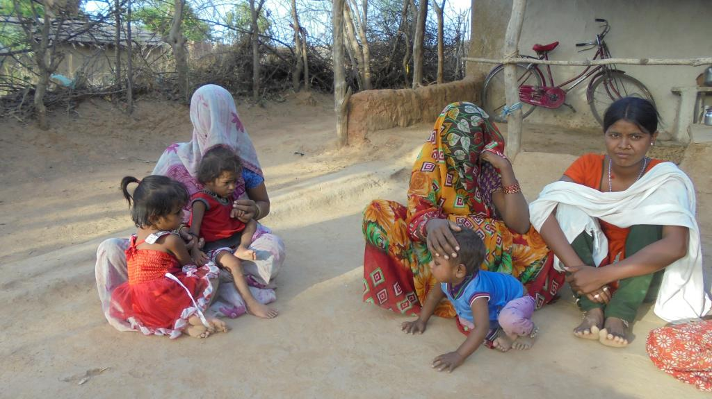 malnourished children in MP