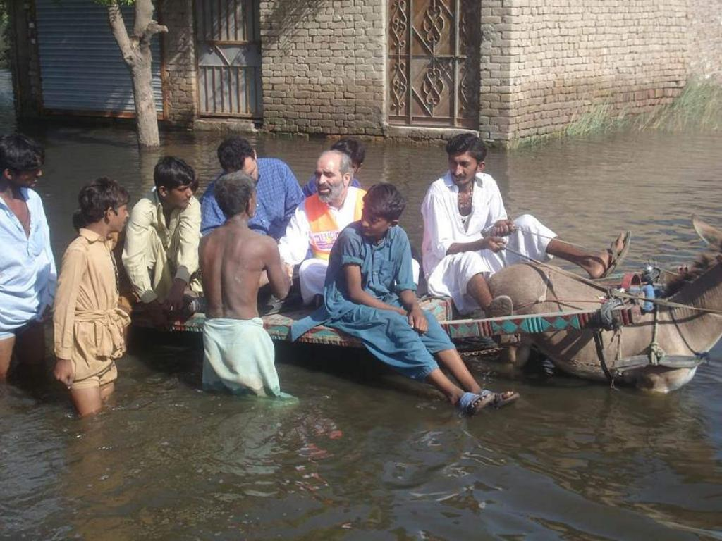 Nearly 25,000 people have been evacuated and 7,500 have been rescued in the state so far Credit: CDC Global / Flicker