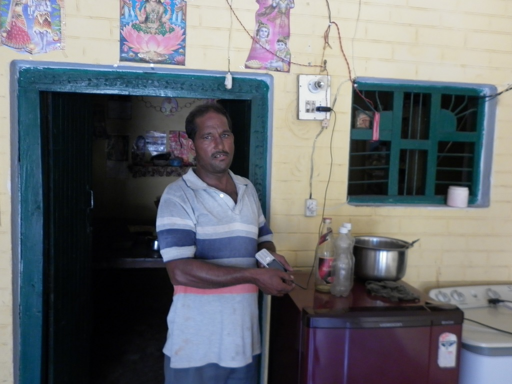 Chargeable appliances and solar panels are the only reliable sources of light for the rural population, say village residents