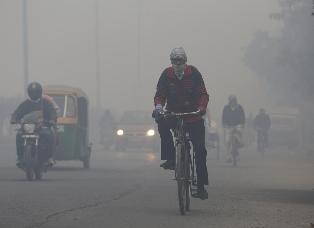 Smog in Delhi has been a persisting problem (Vikas Choudhary/CSE)