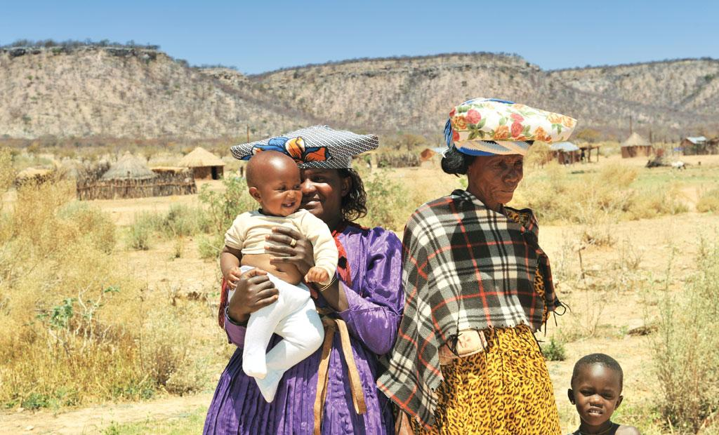 A majority of the Herero people live on less than US $2 a day even today  (Photo: ISTOCK PHOTO)