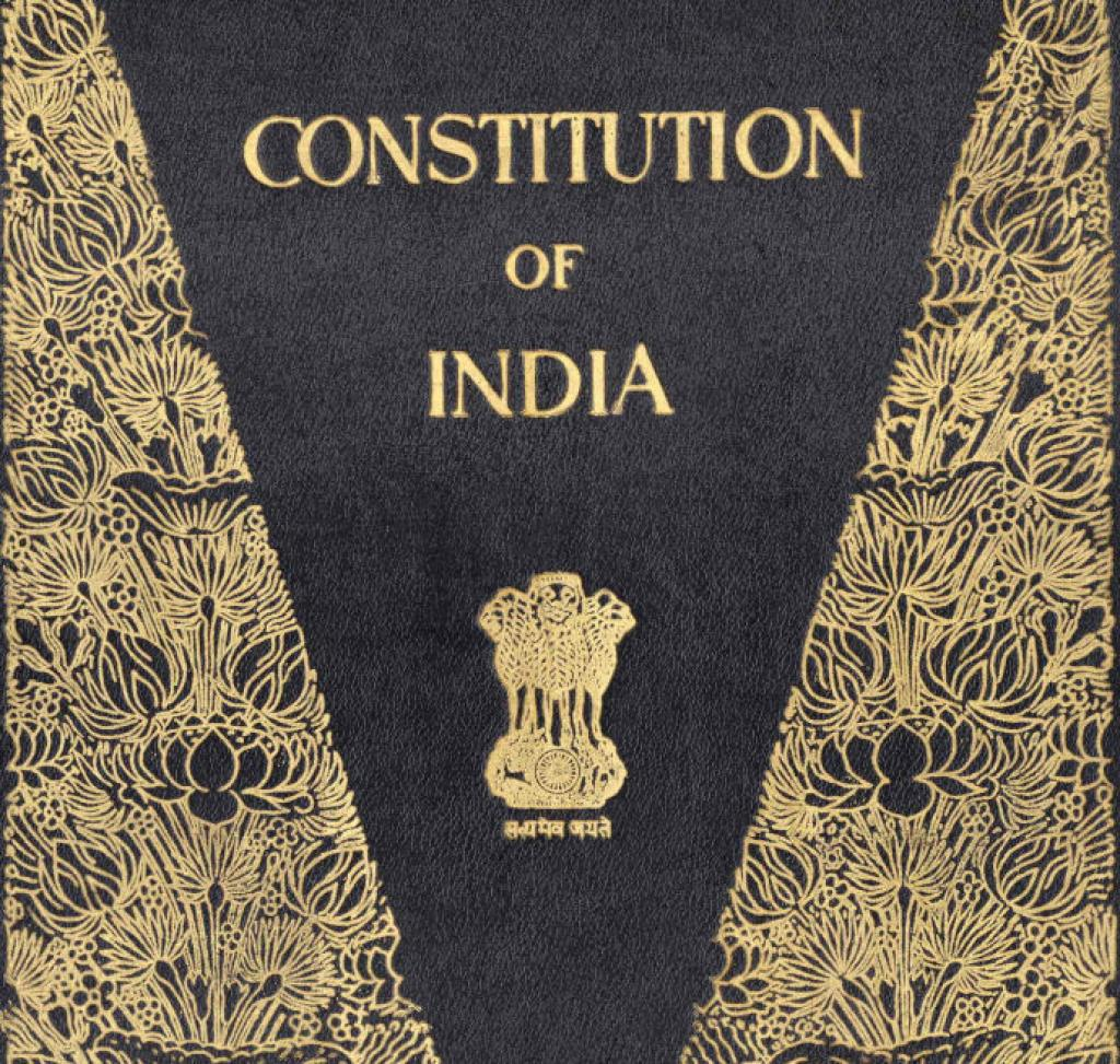 formation of indian constitution