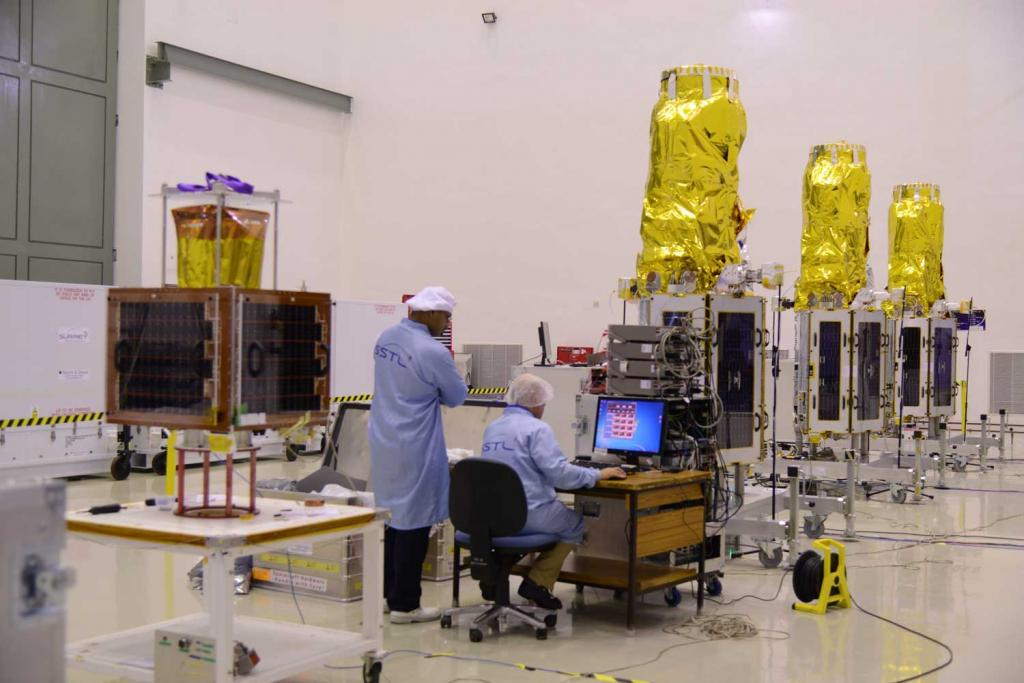 Seven satellites that are part of the system are placed above 35,786 km from the Earth's surface called geostationary earth orbit. Credit: ISRO/ Flicker