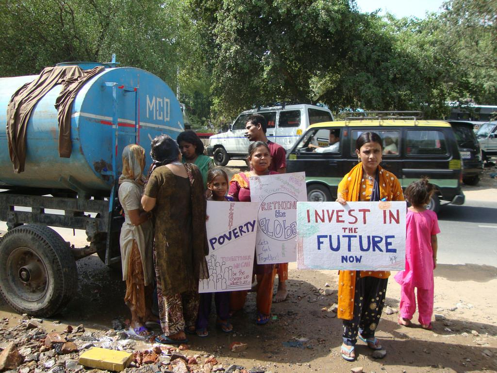 Climate change action in Gujarat has allegedly ignored needs of rural population in the state Credit: Global Call for Climate Action/ Flicker