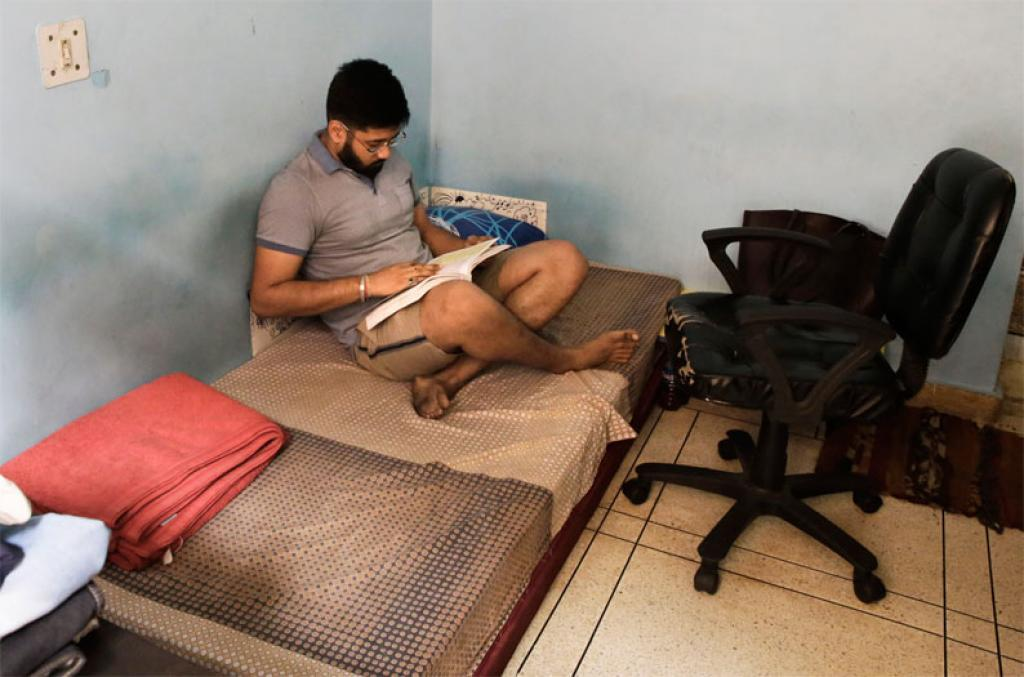 Civil services aspirant Mirganka Sekhar Borah would often study till dawn. He soon started finding it difficult to get any sleep at all and realised he had a sleep disorder