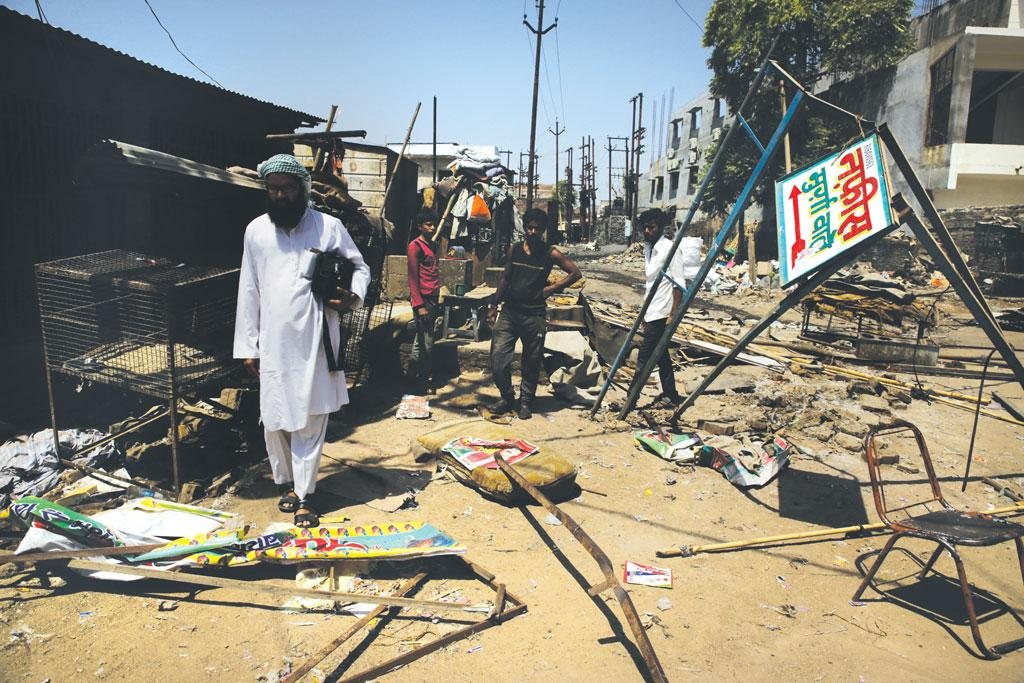 Just two days after the Uttar Pradesh government's order, local authorities bulldozed all the 128 meat shops in Banda district