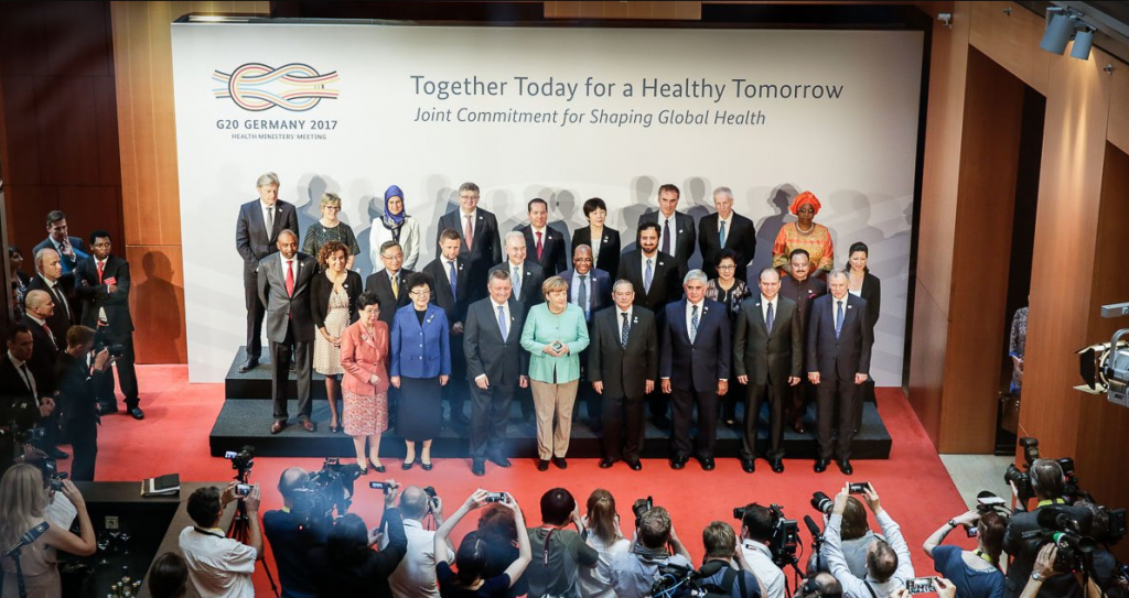 The Berlin Declaration calls for joint commitment and action to ensure a healthier future. Credit: Steffen Seibert / G20