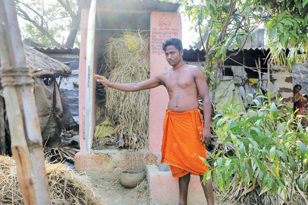 In Odisha's Puri district, most people are not