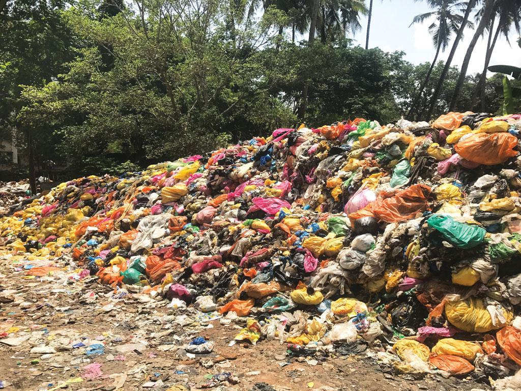 About 80 tonnes of bio-medical waste is lying at Panaji's Campal Material Recovery Facility since 2016
