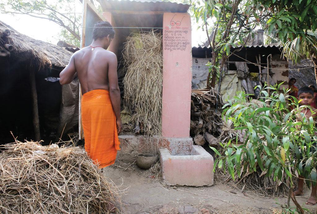 ओडिशा के पुरी जिले के खांडाहोता ग्राम पंचायत को जल्द खुले में शौच मुक्त घोषित किया जाएगा। यहां अधिकतर शौचालय चारा रखने के लिए इस्तेमाल किए जा रहे हैं