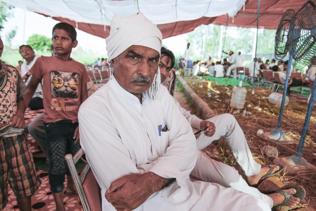 ग्रामीण पिछले तीन दिनों से सत्याग्रह आंदोलन शांतिपूर्ण चला रहे हैं Credit: Adithyan PC / CSE