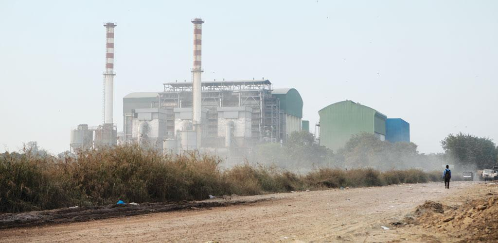 The Okhla plant in Delhi is