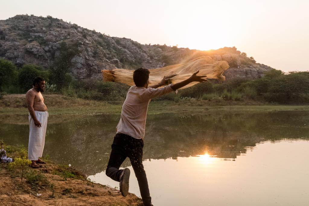 Fishing is also common in the Aravallis, but the drying up of lakes has taken a toll on its extent
