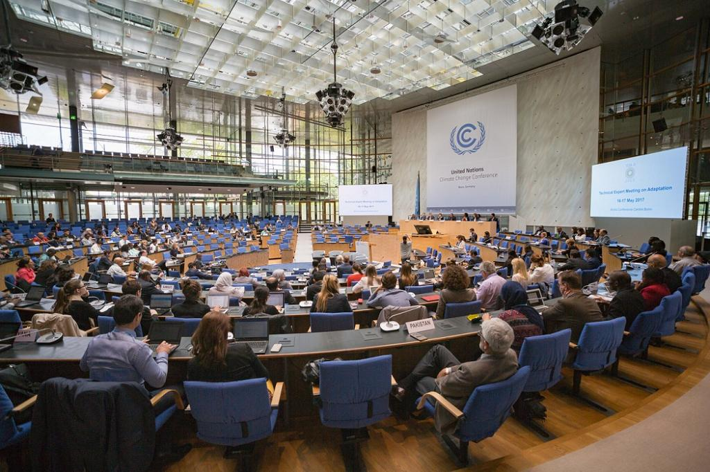 In Bonn, the US continued to dictate terms of negotiations and blocked progress on equity and finance. Credit: UNclimatechange / Flickr