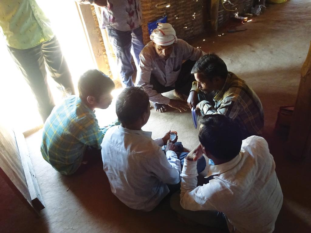Villagers in Narmada district of Gujarat have learnt the use of GPS to map their forests