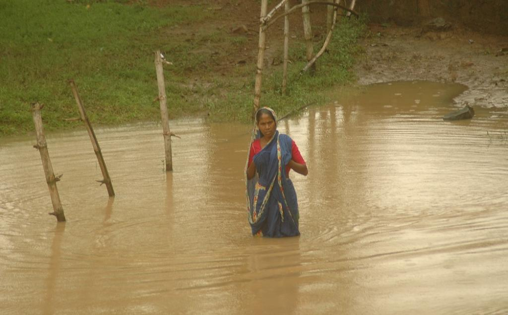 During 1991 cyclone and flood in Bangladesh, women's death rate was almost five times higher than men. Credit: Agnimirh Basu