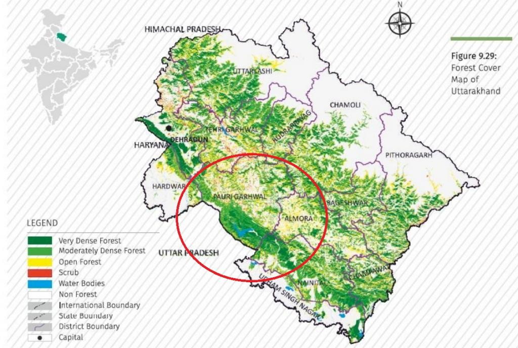 Credit: Forest Survey of India