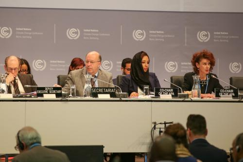 Ad Hoc Working Group on the Paris Agreement adopts revised agenda at the Bonn climate talks