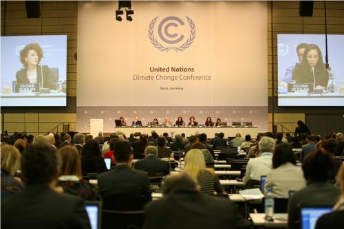 Bonn climate talks proceed with formation of contact group