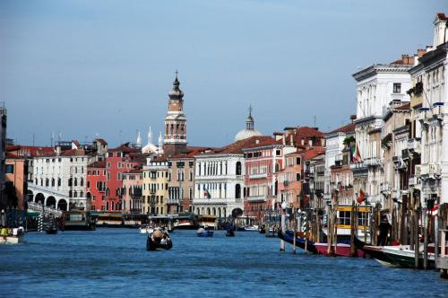 The historic city of Venice will eventually succumb to rising levels of the Adriatic, warns Markham  Credit: Flickr