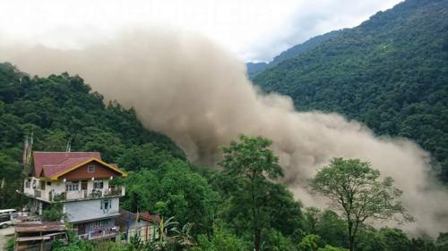 Sikkim High Court issues notice to state government on landslide dam