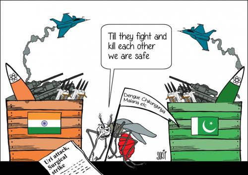 India's real enemy