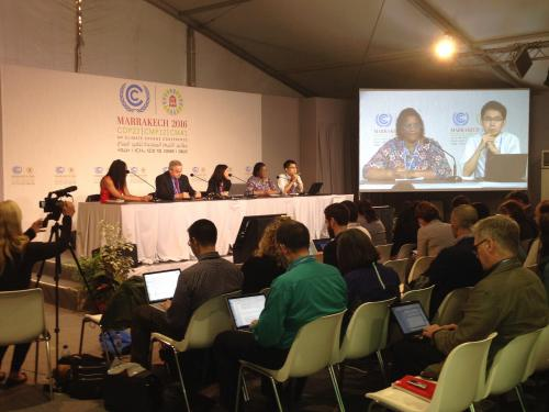 First week at COP 22: discussions on crucial issues stalled due to lack of consensus
