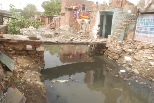 Water-sensitive innovations to transform health of slums and environment