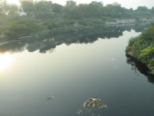 After long denial, Haryana recognises Najafgarh lake as water body