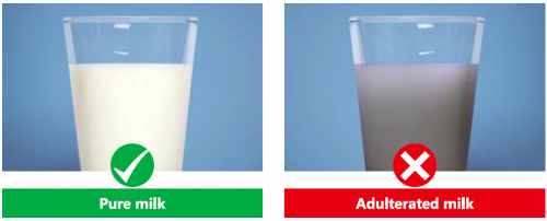 adulteration in milk product Detection of adulteration in milk and milk products.