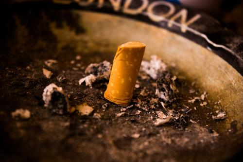 Your cigarette continues to harm environment long after it is extinguished