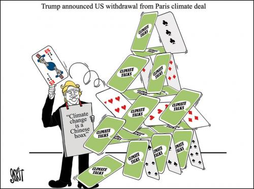 Trump dumps the Paris climate deal