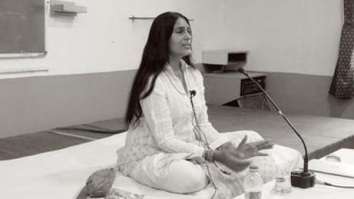 One has to work towards a higher goal of self achievement, which yoga provides, says Anu Aggarwal Credit: AAF
