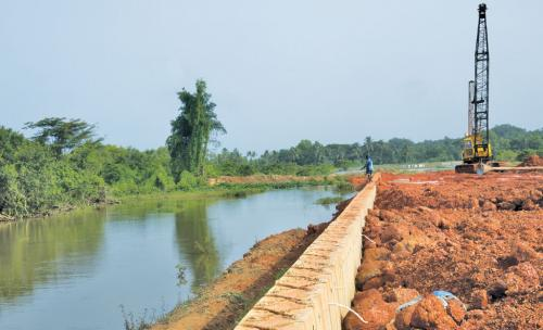 Road construction projects are destroying Goa's traditional wetlands