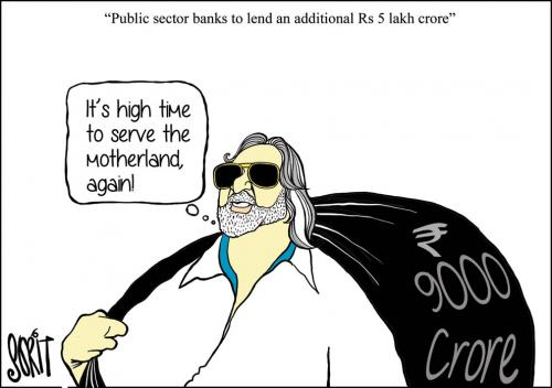 What about the huge pile of bad loans adding to non-performing assets?