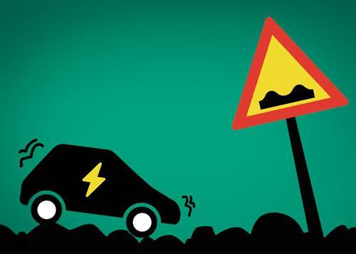 The e-vehicle paradox