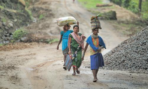 The first wave of African migrants leaving Malkangiri, Odisha—their ancestral region—in search of livelihood
