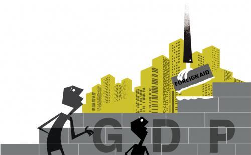 Can aid engineer economic prosperity?