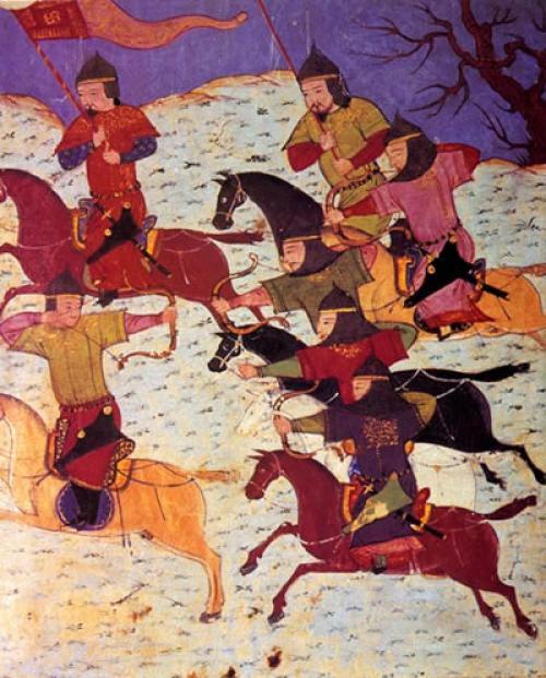 Mongol Cavalrymen       Credit: Wikimedia Commons