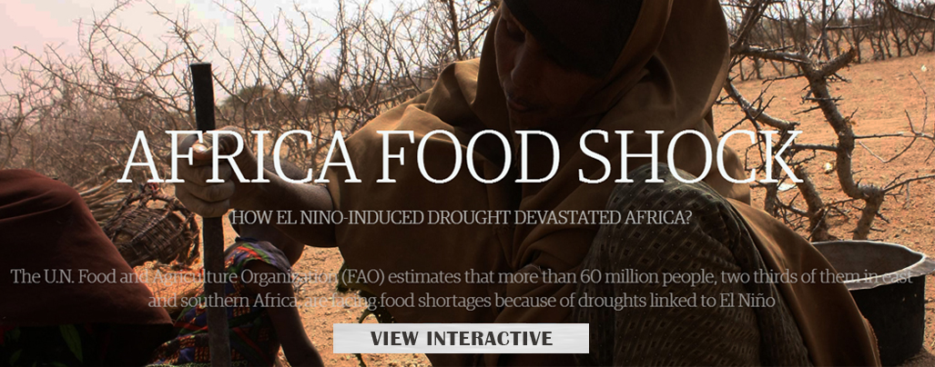 El Nino-induced drought leaves Africa dry and hungry