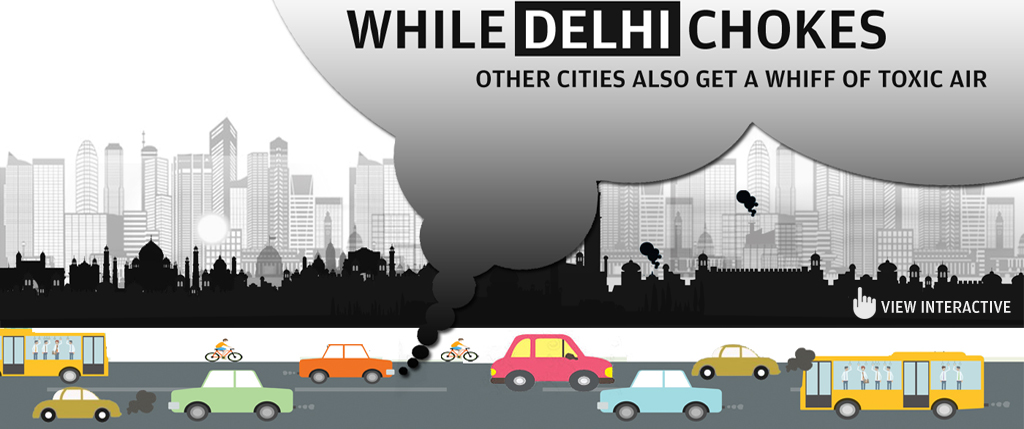 While Delhi chokes, other cities also get a whiff