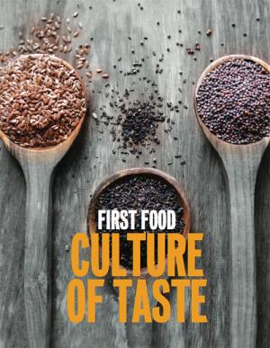 FIRST FOOD: Culture of Taste