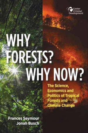 WHY FORESTS? WHY NOW? THE SCIENCE, ECONOMICS AND POLITICS OF TROPICAL FORESTS AND CLIMATE CHANGE<br> Frances Seymour and Jonah Busch<br> Center for Global Development | 429 pages | $24.95