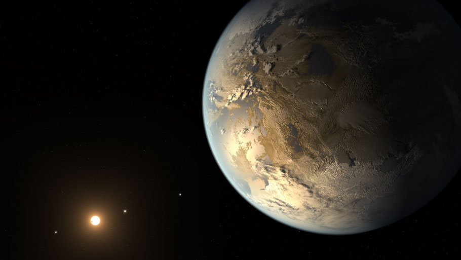 Five Earth-like planets discovered by NASA