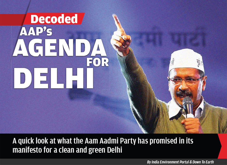 AAP's AGENDA FOR DELHI