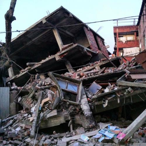 Manipur earthquake leaves trail of destruction