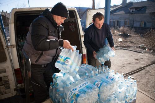 About 1.3 million children and adults facing water crisis in Ukraine